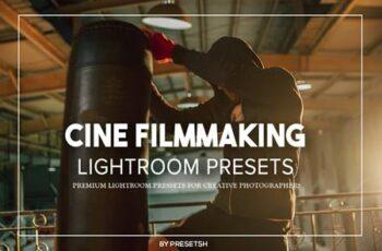 Cine Filmmaking Lightroom Presets U7SHTY7 7
