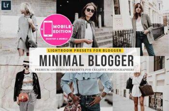 Minimal blogger Lightroom Presets SHSL7LX 7