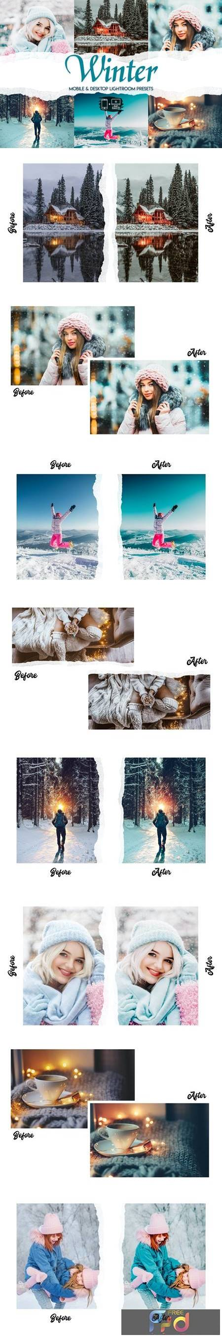 Winter - 15 Premium Lightroom Presets 8SB7LX9 1