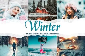 Winter - 15 Premium Lightroom Presets 8SB7LX9 3