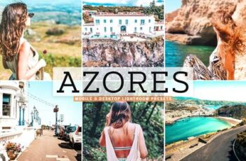 Azores Mobile & Desktop Lightroom Presets 6UJNBVU 7