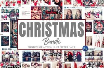Bundle 55 Photoshop Actions, ACR, LUT 6576369 8