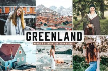 Greenland Mobile & Desktop Lightroom Presets RKJAF69 5