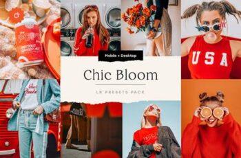 Chic Bloom – 4 Lightroom Presets Set 5347851 5