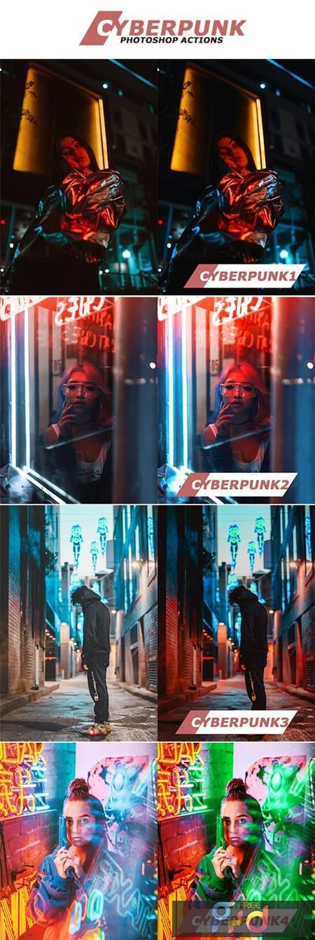 Cyberpunk Photoshop Actions 28533023 1