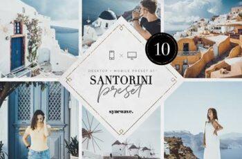 Santorini Lightroom Presets Bundle 5251203 6