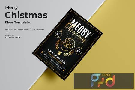 Christmas Flyer Template BW7LVLV 1
