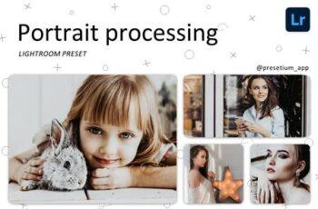 Portrait Process - Lightroom Presets 5216589 5