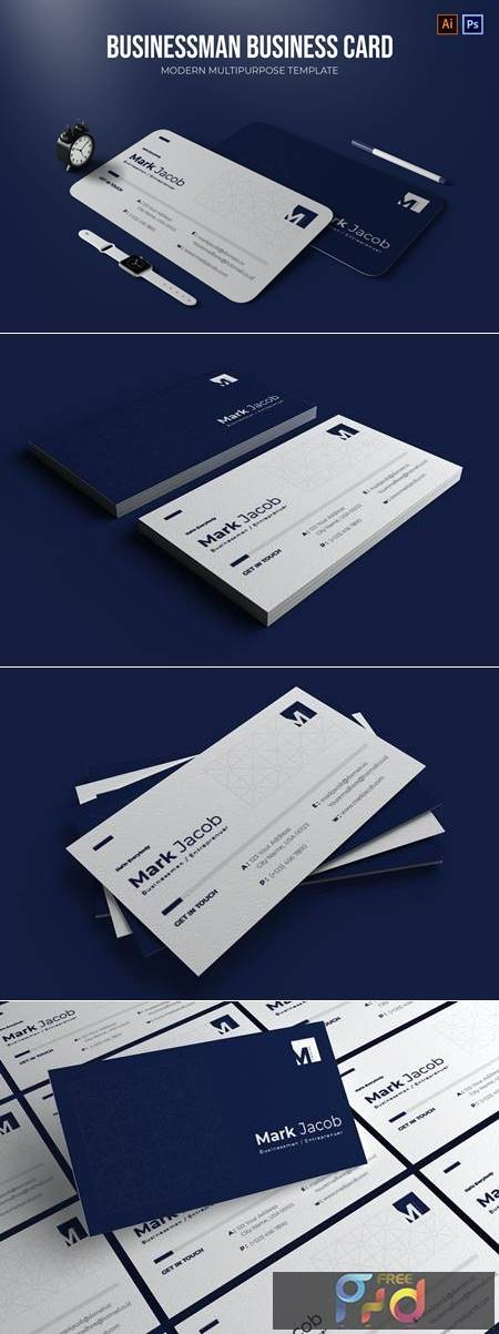 Businessman - Business Card 55EJQQH 1