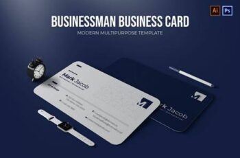 Businessman - Business Card 55EJQQH 3
