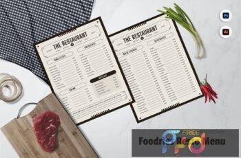 Foodries Restaurant Menu BLCC72L 6