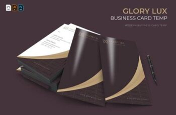 Glory Lux - Business Card BLSC2X6 2