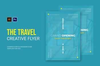 Travel & Tourist Spot - Flyer 54EJZ5K 5