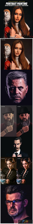 Portrait Painting Photoshop Action 28775412 1