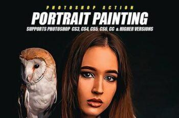 Portrait Painting Photoshop Action 28775412 6