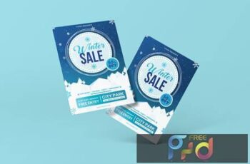Winter Flyer Template XN4TTT9 15