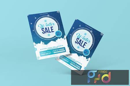 Winter Flyer Template XN4TTT9 1