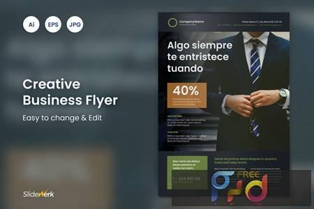 Creative Business Flyer 25 - Slidewerk RUYXB2Q 1