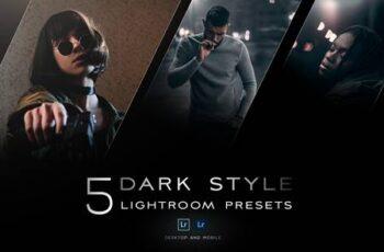 5 Dark style Lightroom presets 5106345 7