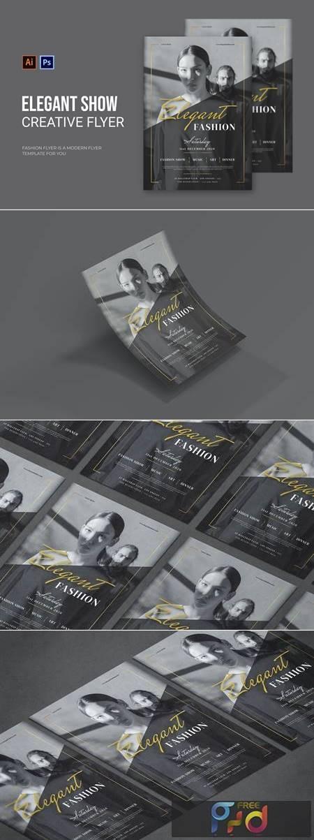 Elegant Show - Flyer 5LZXD3T 1