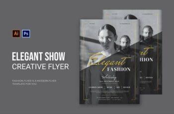 Elegant Show - Flyer 5LZXD3T 5