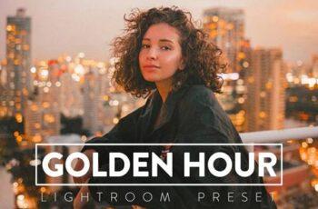 10 GOLDEN HOUR Lightroom Preset 5568372 2