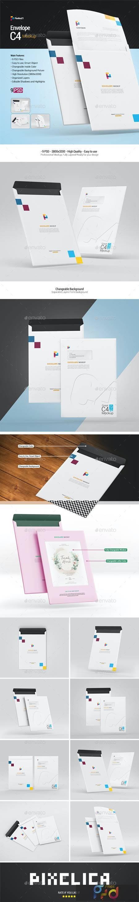Envelope C4 Mockup 29311897 1