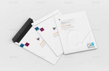 Envelope C4 Mockup 29311897 2
