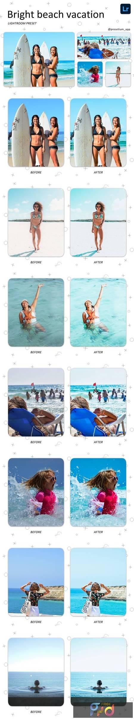 Beach Vacation - Lightroom Presets 5219377 1