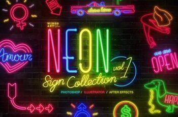 Neon Sign Collection- Volume One 4718662 5