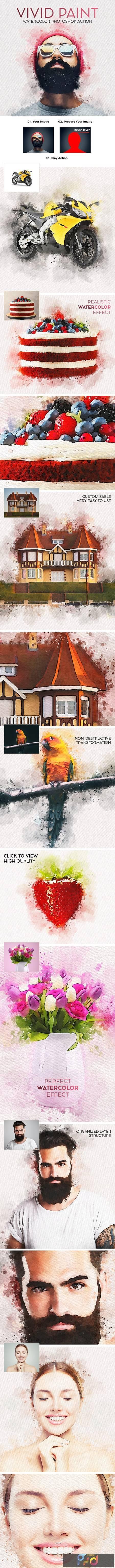 Vivid Paint - Watercolor Photoshop Action 28736835 1