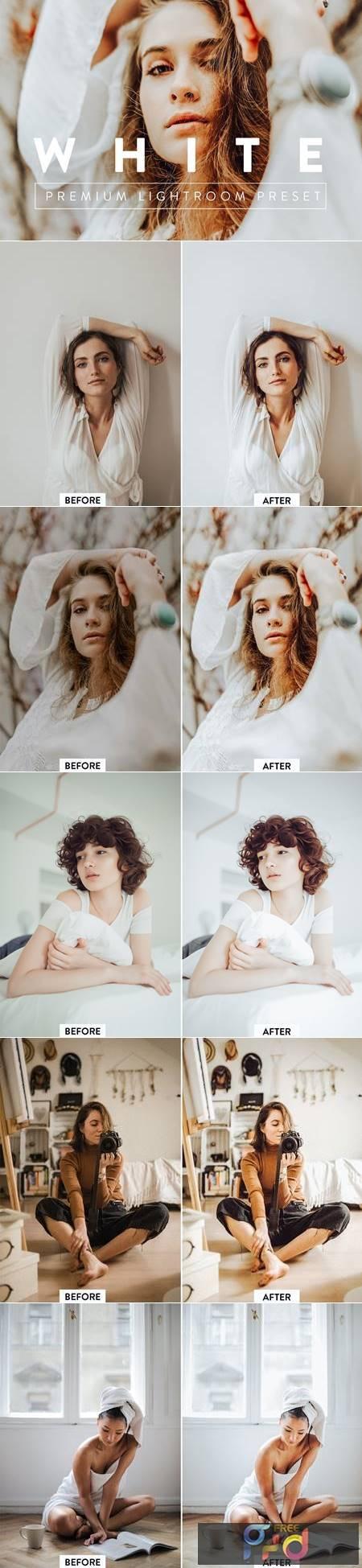 WHITE Premium Lightroom Preset 5059811 1