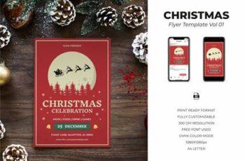 Christmas Flyer Template Vol.01 K63FYMN 3