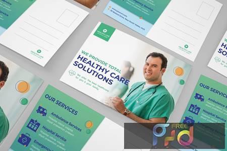 Medical postcard VQ735TQ 1