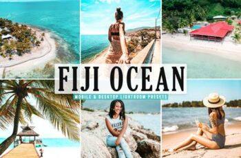 Fiji Ocean Mobile & Desktop Lightroom Presets P5959J4 5