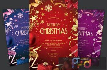 Merry Christmas Flyer XBSW9VW 3