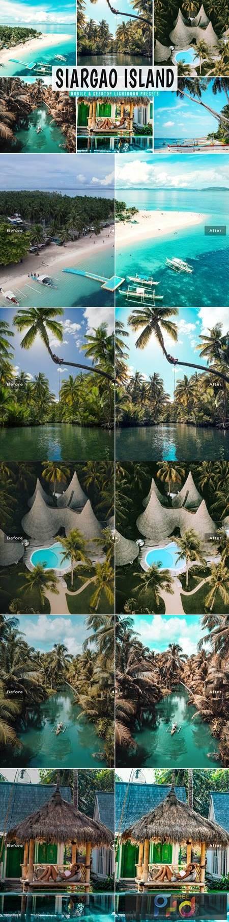 Siargao Island Mobile & Desktop Lightroom Presets 5ZQP6DD 1
