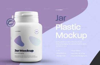 4 Mockups Plastic Jar For Pills or Capsules 29337798 10