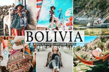 Bolivia Mobile & Desktop Lightroom Presets MBMX3MS 3