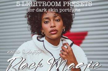 5 Dark Skin Lightroom Presets 5361772 5