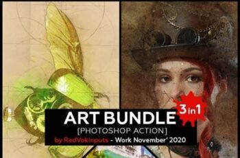 Art Bundle Photoshop Action 29342729 16