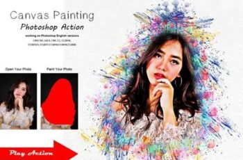 Canvas Painting Photoshop Action 5370490 8