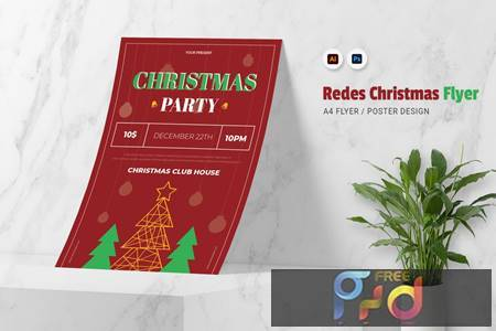 Redes Christmas Flyer E2ES64X 1