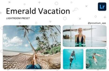 Emerald Vacation - Lightroom Presets 5219460 4