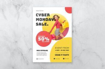 Cyber Monday Flyer VQ44F7S 2