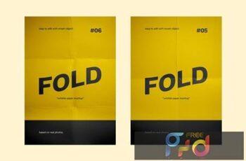 Flyer Paper Fold Mockup 4RRRPSE 6