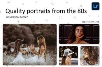 Portraits 80s - Lightroom Presets 5219442 5