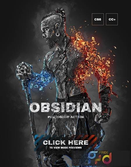 Obsidian Photoshop Action 26998428 1