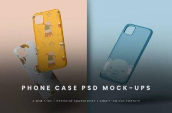 Phone Case PSD Mock-Up URH4ZAD 7