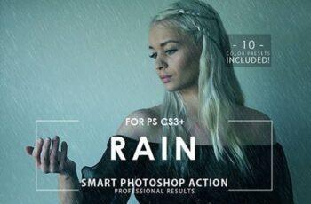 Rain Photoshop Action 28806032 2